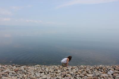 Прикосновение к небу озеро небо Байкал