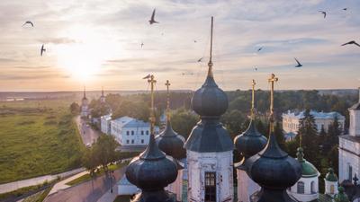 Собор Иоанна Устюжского на Соборном дворище. Великий Устюг.