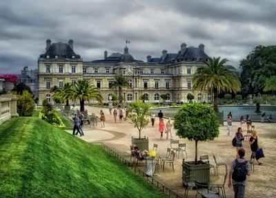 ***В Люксембургском саду.Париж.Франция.