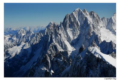 Французские Альпы альпы франция монблан горы