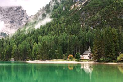 Италия пейзаж италия альпы брейес озеро горы