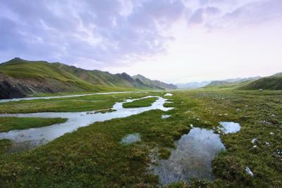 Ак-Сайская долина Нарынская область Кыргызстан