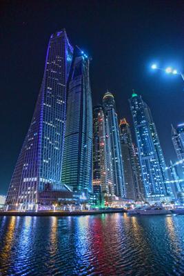 Ночной Дубай...