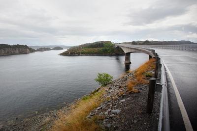 Дорога на краю земли дорога мост природа шхеры Норвегия путешествие Скандинавия край земли север north travel Norway bridge nature