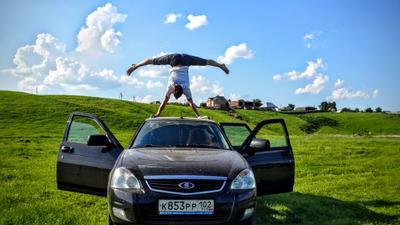 Handstand воркаут гимнастика Дюмеево спорт отдых природа