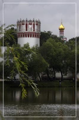 новодевичий 2 новодевичий монастырь башня купол пруд