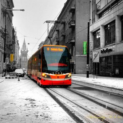 Городской этюд. Прага