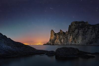 """""""В ожидании рассвета"""" рассвет ночь караул-оба новый свет судак звезды гора"""