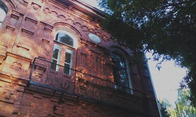 """Усадьба"" архитектура дерево балкон здание"