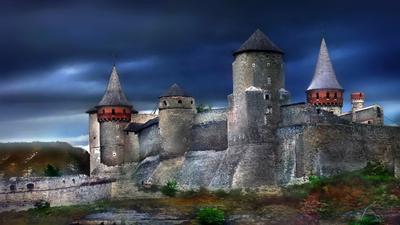 На Дерибасовской хорошая погода… Замки-крепости-Украины замок Крепость Украина Хотин Хотинская-крепость Каменец-Подольский