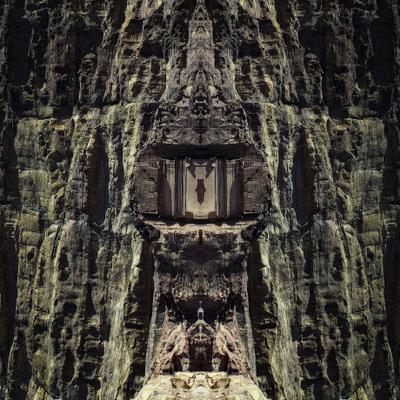фантазия на тему симметрия зеркальное отражение скала фантазия symmetry mirror rock fantasy