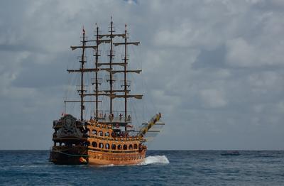 В перёд, в открытое море!