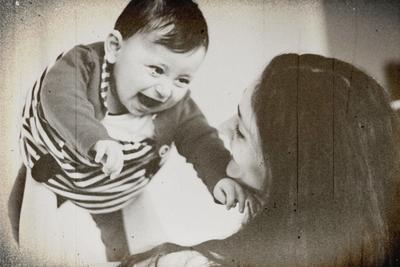 Laugh Мама и дочка любовь милый дом