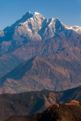 Гаури Санкар, 7134м Гаурисанкар, Гималаи, Непал