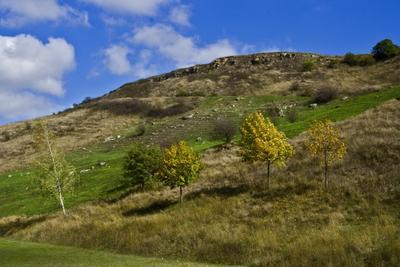 Гора Юца. Западный склон Юца гора