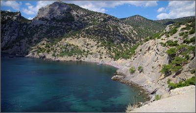 Царский пляж Крым Новый Свет