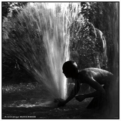 Водяной (перепост. Квадратный вариант) Фонтан