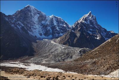 Табоче и Чолацзе. Непал Гималаи трек Nepal Himalaya trek