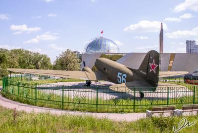 Транспортный самолет времен Великой Отечественной войны Ли-2 Минск Ли-2 самолет ВОВ