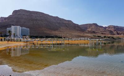 Отель Давид. Мертвое море.
