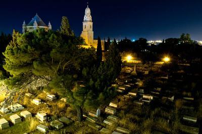 Уголок ночного Иерусалима