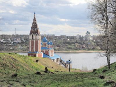 Казанская Преображенская церковь.