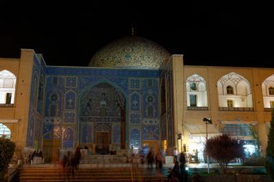 Мечеть Лотфуллы. Исфахан. Иран. мечеть исфахан иран