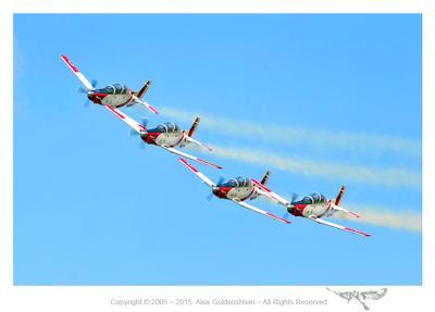 Показательное выступление ВВС Израиля ВВС Т-6А Texan II день независимости Израиля Авиашоу небо Израиль самолет