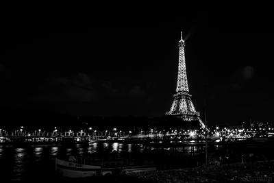 Праздник, который всегда с тобой ночь Париж Франция Сена Эйфелева_башня