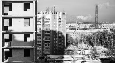 Новосибирск - серый город Серость город серость