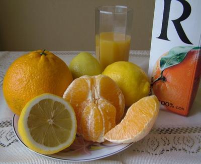 Этюд в оранжевых тонах.