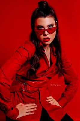 леди в красном гламур фото фотограф питер фотографспб фэшн красный red beauty
