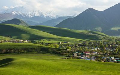 Место слияния природы и человека) Кой-Таш Киргизия