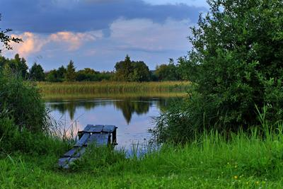 Мосар озеро, кладка