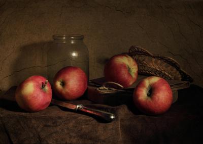 Этюд с яблоками