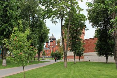 У стен Тульского кремля Тула