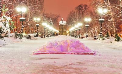 зимняя сказка зима