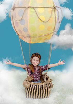 На воздушном шаре ОНА