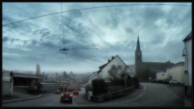 *** Германия село дорога