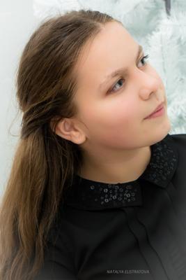 Мысли девушка портрет глаза Новокубанск