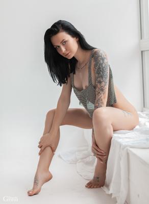 Stasya model alexandergrinn lingerie