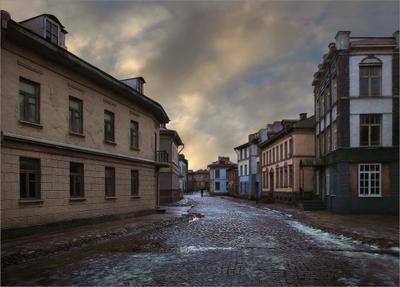 уходящий прохожий городок N Мосфильм