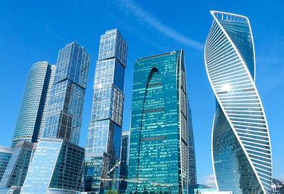 Москва-Сити здания небоскреб Россия Russia Moskow Moscow City Город Москва Москва-Сити