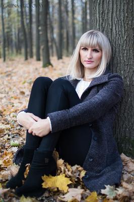 *** лес осень девушка красота woman autumn beautiful фотосъемка