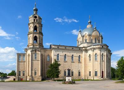 Храм Живоначальной Троицы п.г.т. Гусь-Железный, Касимовский район, Рязанская область