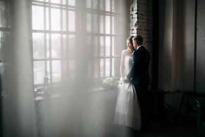 *** лофт невеста утро платье