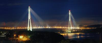 Русский мост Russky bridge, Vladivostok, Russia, Русский мост
