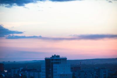Утро Пермь утро красивый рассвет