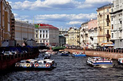 Северная Венеция. город питер каналы