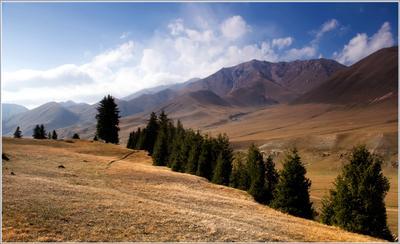 Осень Кыргызстан